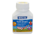 BIOGLAN KIDS SMART OMEGA 3 FISH OIL PARA NIÑOS 60 CHEWS TRIO